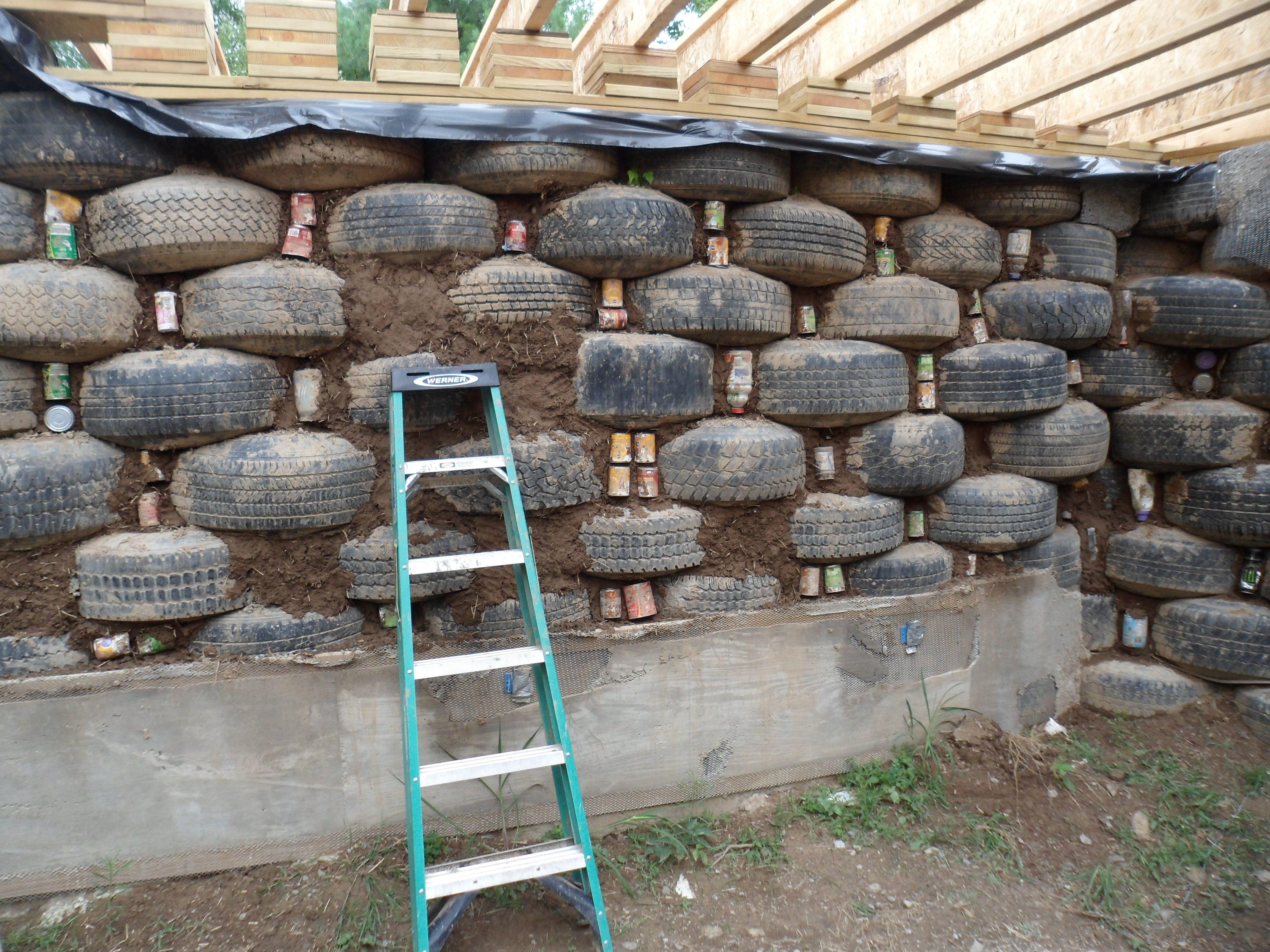 Rammed Earth Home Design Cronk Earthship Tire House