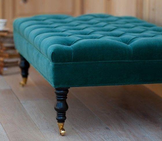 Beautiful Grace Tufted Ottoman/Bench 48x24x17 por LoveAtHomebyJenny ...