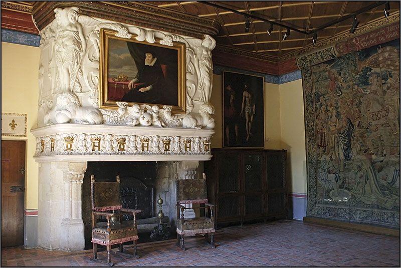 Chenonceau la chambre de diane de poitiers castle pinterest ch teaux ch teau de - Chambre des notaires poitiers ...