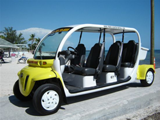 Key West Electric Car Rental Is So Much Fun Getting Around Key West Florida Keywest Key West Key West Hotels Scooter Rental