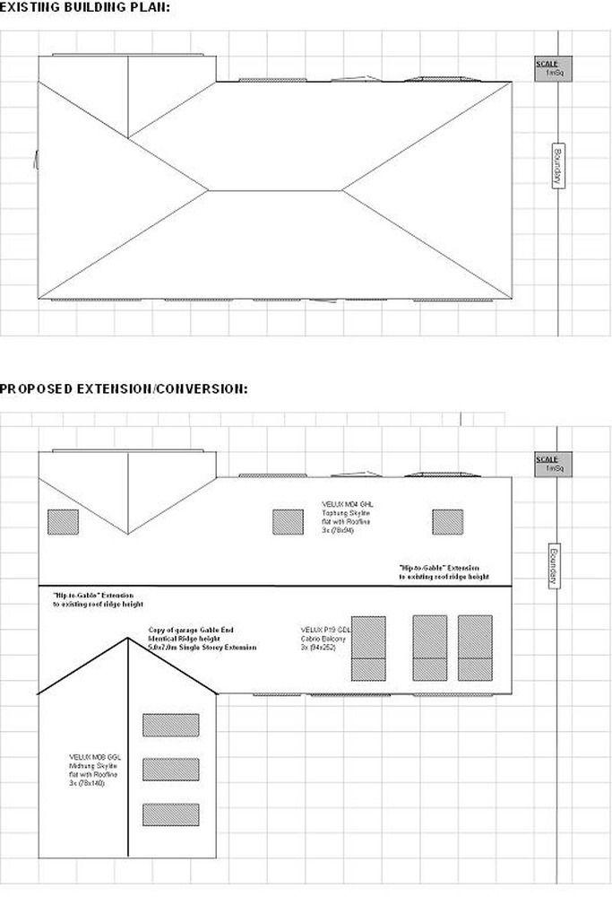 Hip To Gable Roof Extension Conversion Loft Conversions Job In Birmingham West Midlands Mybuilder Roof Extension Gable Roof Design Gable Roof