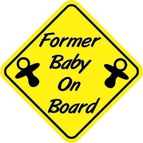"5/"" X 5/"" Baby on board Car Sticker Decal Vinyl"