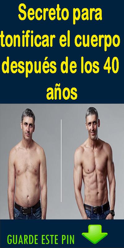 Ejercicios para bajar de peso despues de los 40 años