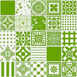 coleção Patchwork Unicolor pistache da Emme-Due