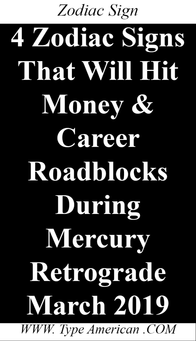 4 Zodiac Signs That Will Hit Money & Career Roadblocks