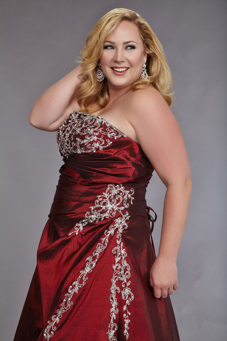 Plus Size Glitter Pageant Dress For Women Pageant Dresses For