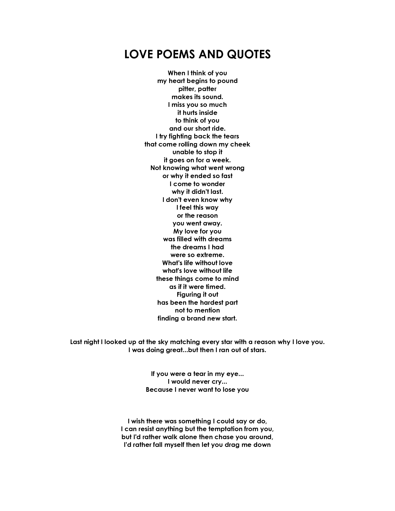 Sad goodbye love poems document sample projects to try sad goodbye love poems document sample thecheapjerseys Images