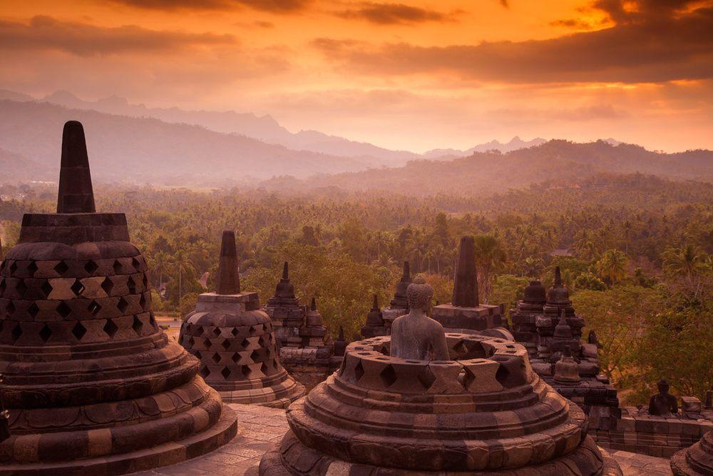 Lugares que ver antes de morir, como Borobudur