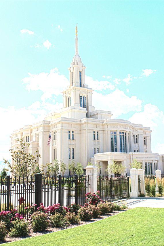 Payson Utah Lds Temple Various Sizes Digital Download Lds