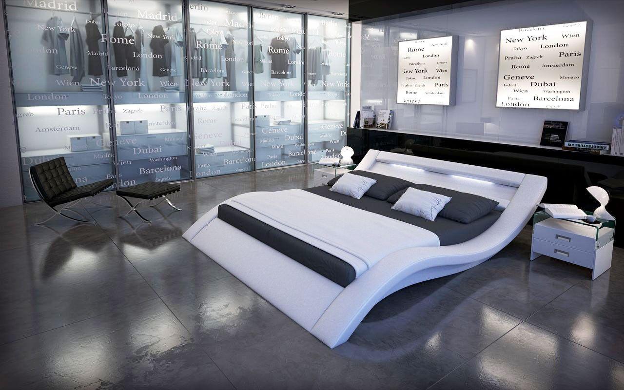 Lit Design Furtado II Led Blanc X Cm Bedroom Design - Lit design a led