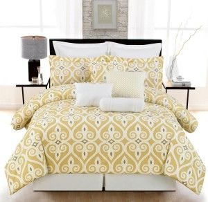 Looking For Yellow And Grey Bedding Collections