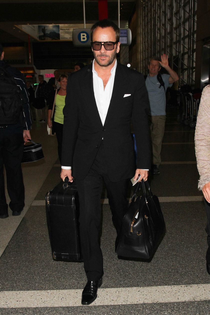 fa11aac5294ba3 Tom Ford Is Our New Airport Style Hero   The Best of GQ   Pinterest ...