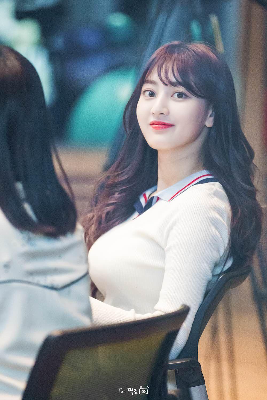 Big breast korean actress