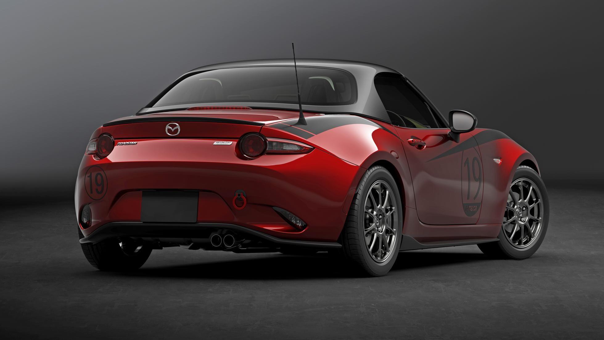 Meet The Carbon Clad Mazda Mx 5 Drop Head Coupe Mazda Miata
