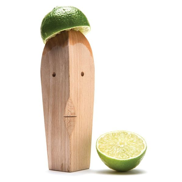 If squeezing lemon and lime juice for summer cocktails doesn't make you grin, try using Juice Bruce: a wooden hand-juicer complete with a slightly bemused face. A super-simple and functional design, this little guy is also easy to use—whether you're...
