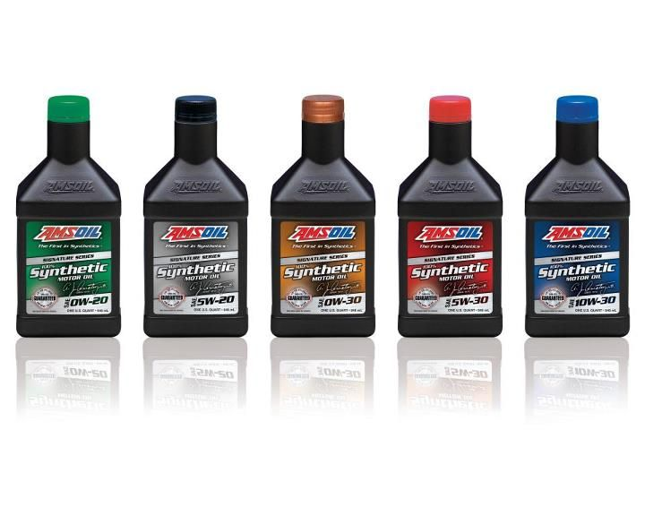 Amsoil Signature Series Synthetic Motor Oil Can Extend Drain