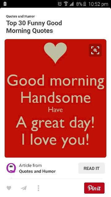 Morning Love You Meme : morning, Aimee, Lisle, Quotes, Funny, Morning, Quotes,