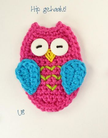 crochet owls - i\'m making a million of these. Love love love | Craft ...