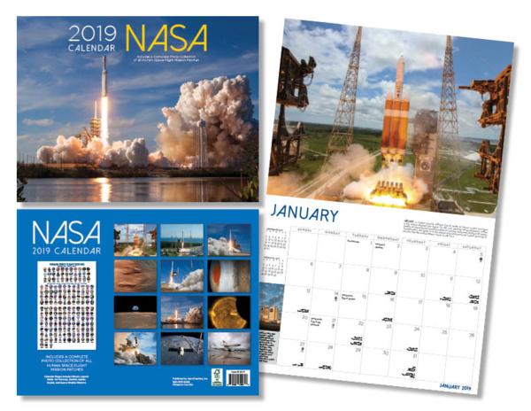 2019 NASA CALENDAR - The Space Store | Nasa, Nasa ...