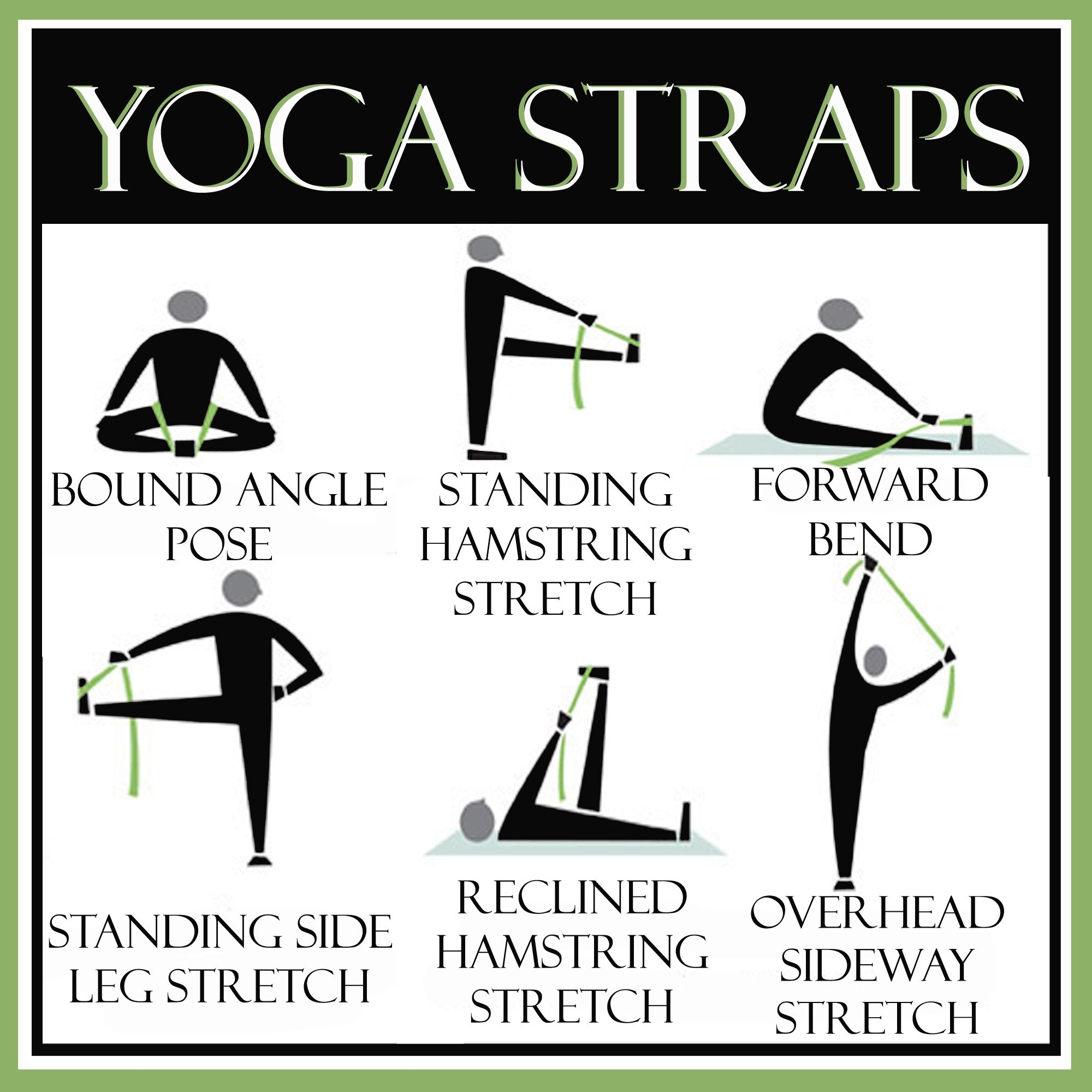 Yoga. Strap. Link is UseLess. Picture is great for a visual reference. ea2efcfc7d3e