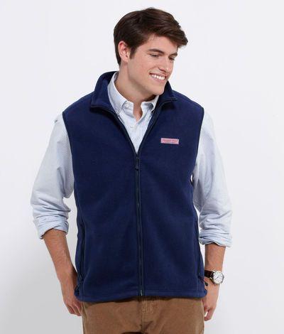 6f2f7ffad22 Mens Vests and Outerwear: Harbor Fleece Vest for Men – Vineyard ...