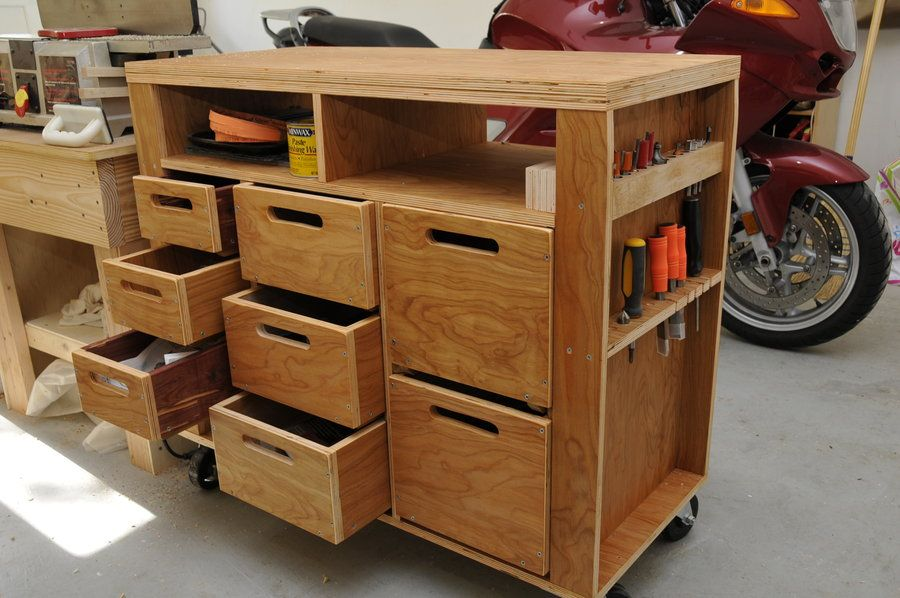 Wooden Tool Chest Diy Diy Projects Chests Diy Wood Tool Box