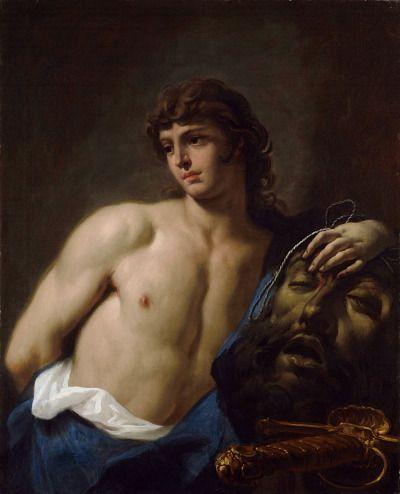 Sebastiano Ricci, David with the Head of Goliath, 18th century