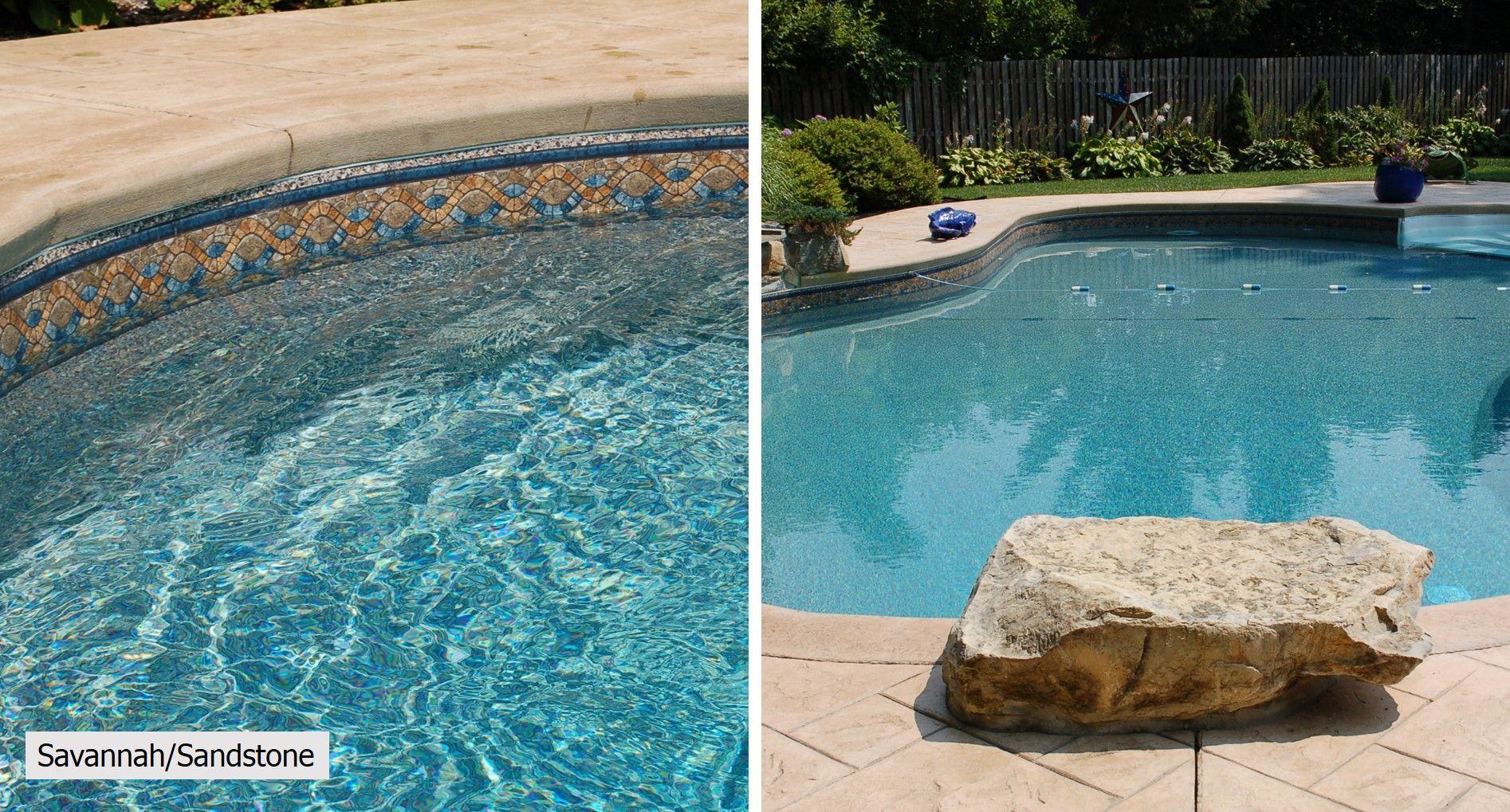 In Ground Pool Liner Patterns Garrett In Ground Pools Pool Pool Liners