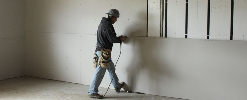 Image result for images of dry wall construction