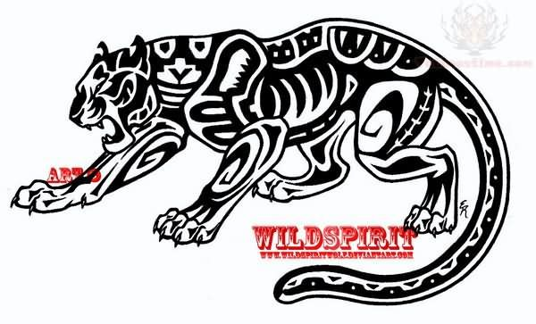 Pin On Skin Art Jaguar