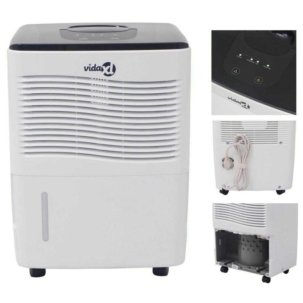 Vidaxl Deshumidificateur Purificateur D Air Pour Maison Bureau 12 L 24 H 230 W Deshumidificateur Ventilation Purificateur D Air
