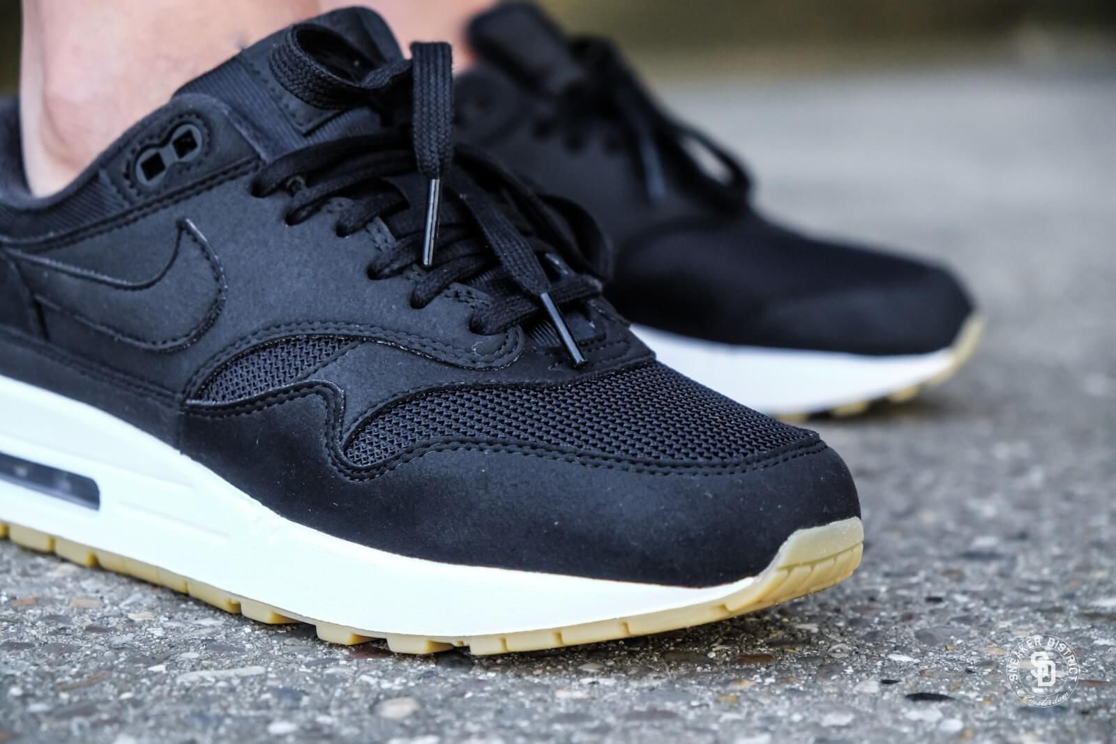 Nike Women's Air Max 1 Black/Black-Gum Light Brown