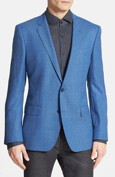1df6a636a58 BOSS HUGO BOSS  Hutch  Trim Fit Wool Blazer available at  Nordstrom ...