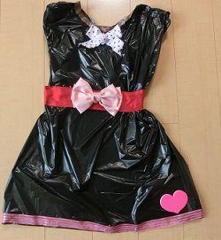 ゴミ 袋 ドレス 作り方 簡単