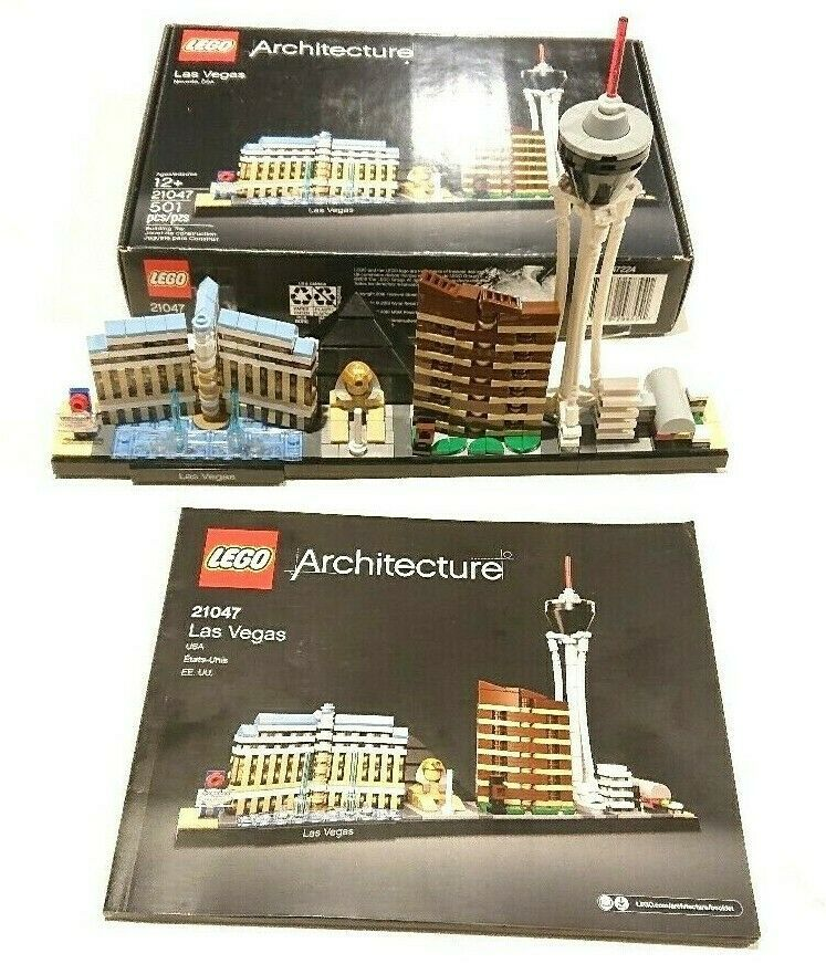 Lego 21047 Architecture Las Vegas 100 Complete With Box Instructions Afflink Contains Affiliate Link Lego Architecture Lego Architecture Series Las Vegas
