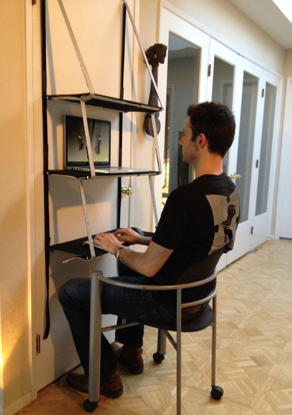 Home Standing Office Design Ideas: Ninja Standing Desk