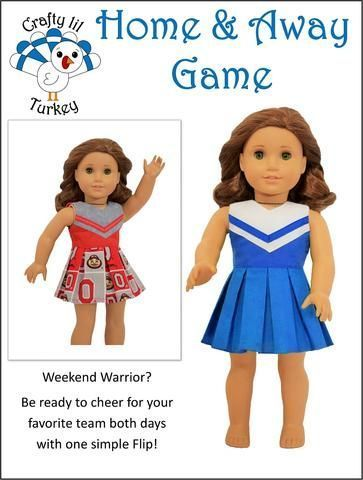Home and Away Game 18 Doll Clothes Pattern #18inchcheerleaderclothes Home and Away Game 18 Doll Clothes Pattern #18inchcheerleaderclothes Home and Away Game 18 Doll Clothes Pattern #18inchcheerleaderclothes Home and Away Game 18 Doll Clothes Pattern #18inchcheerleaderclothes