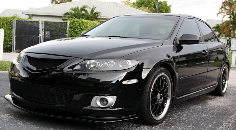 06 Mazda 6 Window Tint