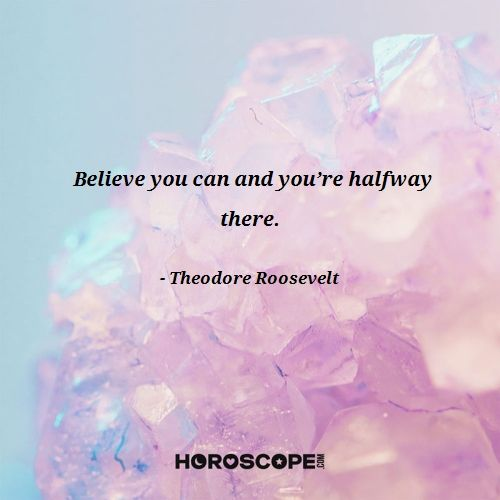 Inspirational quote by Theodore Roosevelt