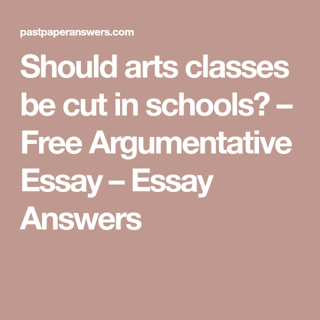Should Arts Classes Be Cut In Schools  Free Argumentative Essay  Argumentative Essay Cigarette Smoking Should Not Be Banned Commercials  Should Cigarette Smoking Be Banned Essay Controversy Of Banning Smoking   Business Essays Samples also English Sample Essays  Compare And Contrast Essay High School And College