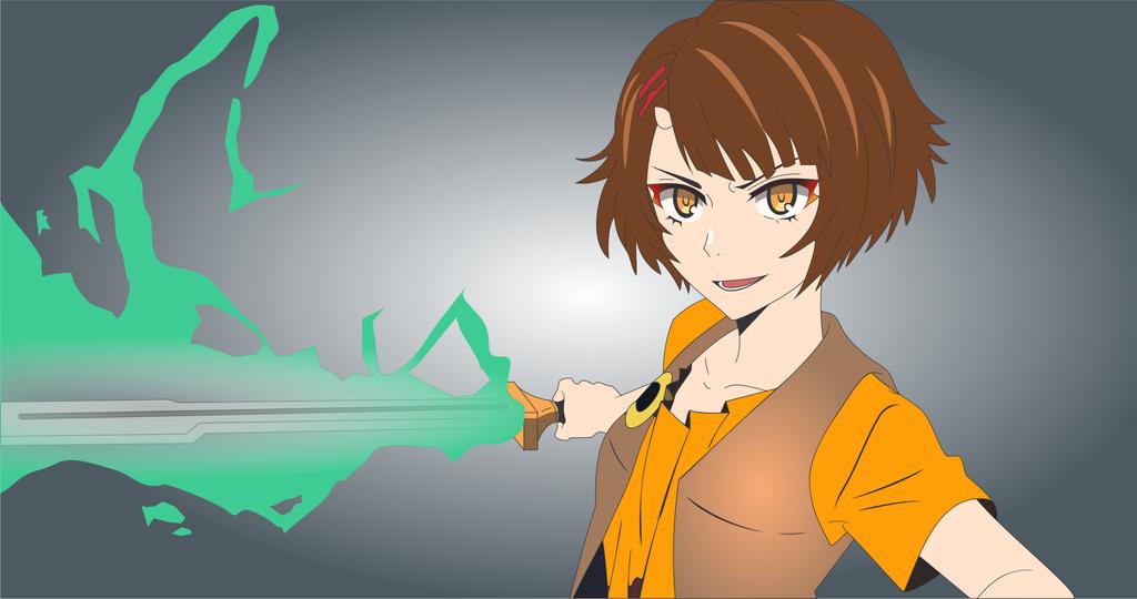 Endorsi 4k Wallpaper Vector Tracing Endorsi Wallpaper Anime Tower