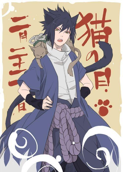 Sasuke As A Cat | www.imgkid.com - The Image Kid Has It!  Sasuke As A Cat