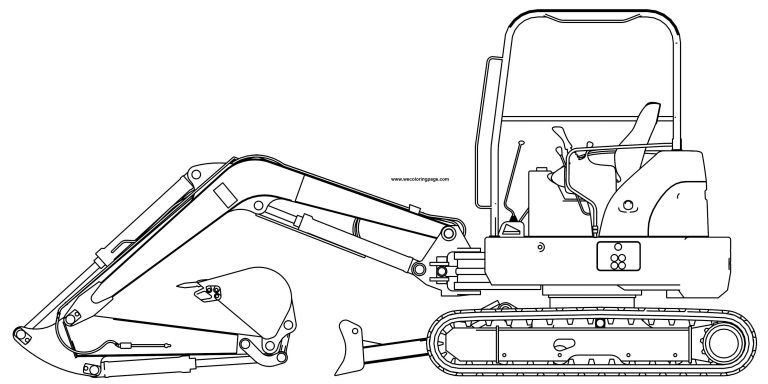 Excavator Coloring Pages Wecoloringpage Com Lego Coloring Pages Lego Coloring Coloring Pages