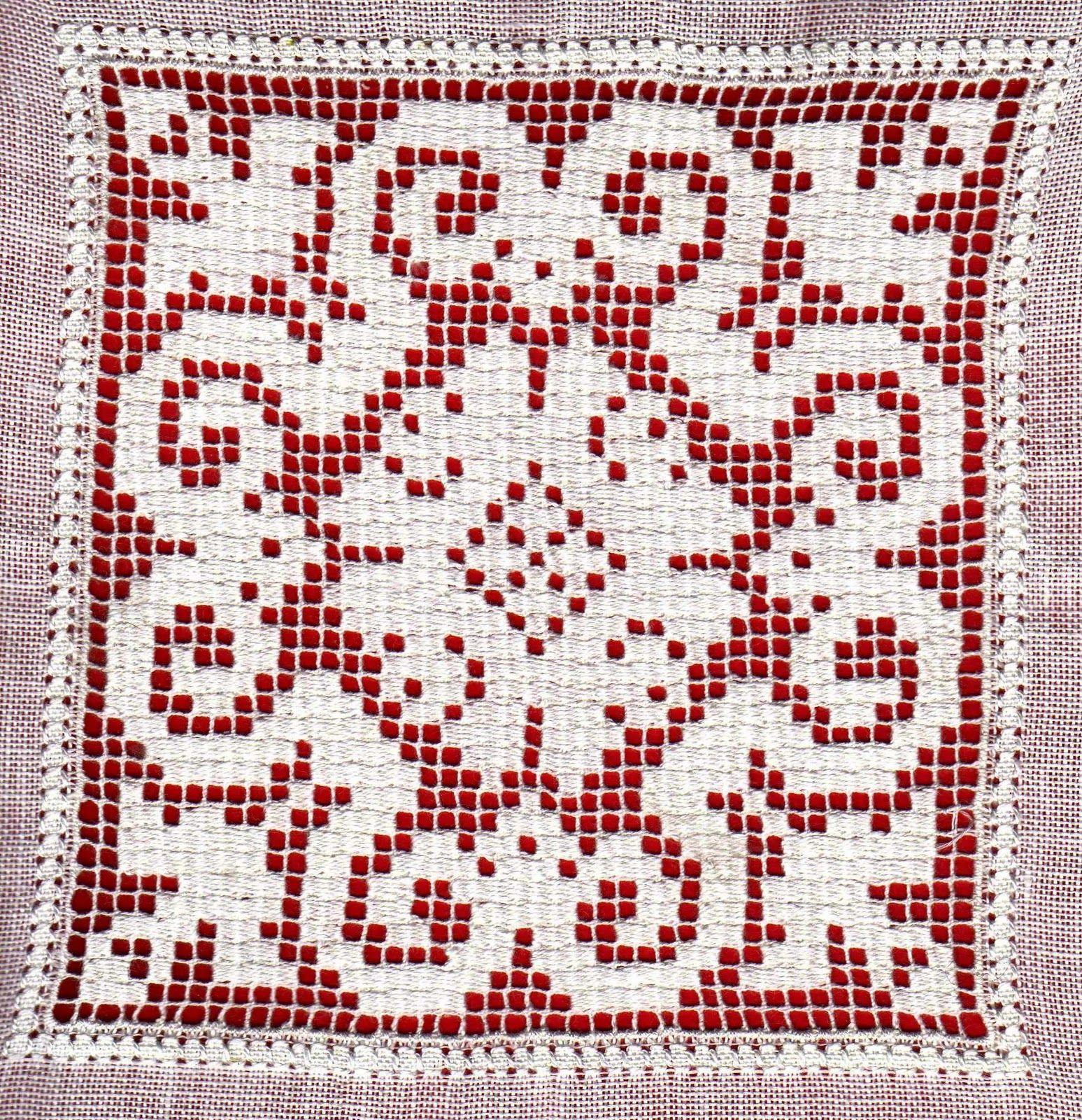 Ricamo, embroidery, broderie, bordado,.....: Sfilato siciliano