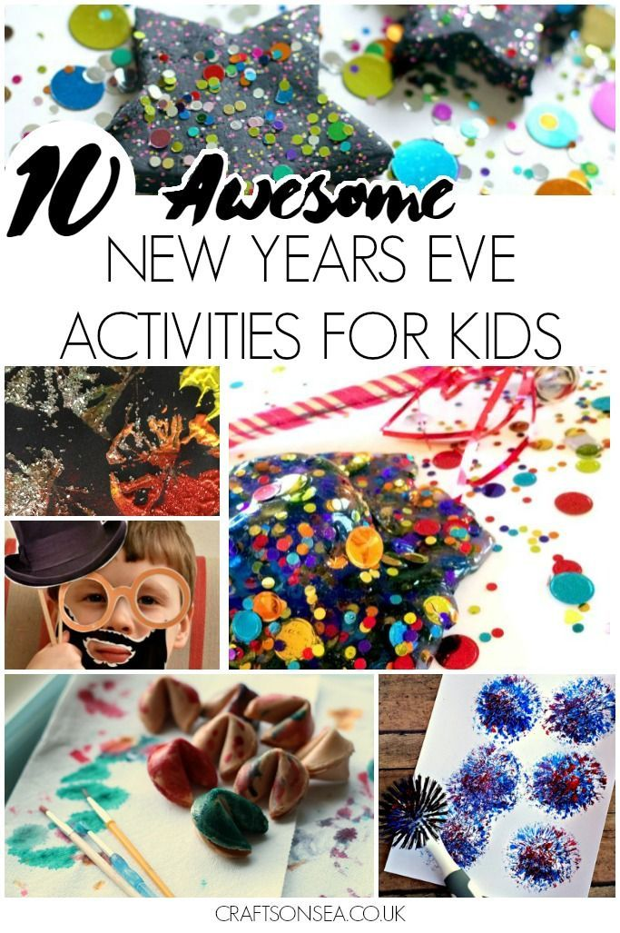 10 Awesome New Years Eve Activities for Kids