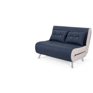 Haru Small Sofa Bed Quartz Blue Small Sofa Sofa Bed Small Couch