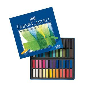 Faber Castell Soft Pastels 48 Pack Faber Castell Pastel Crayons