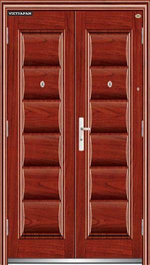 steel edis wood door 153- cửa thép van gỗ edis 153 steel ed …