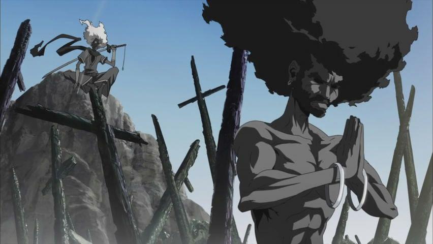 Afro Samurai Resurrection Afro Samurai Black Love Art Samurai Wallpaper