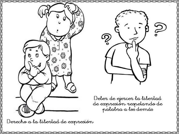 Obligaciones De Los Ninos Para Colorear Imagui Iyo Comics Character